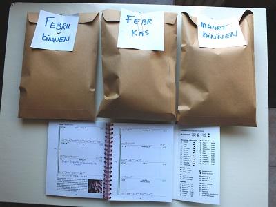 Planning 2013 de enveloppen