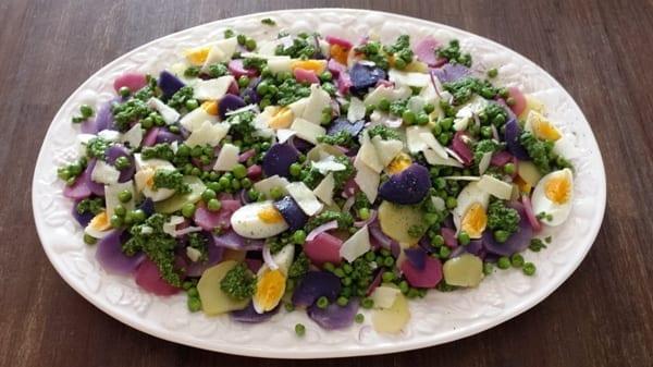 Aardappelsalade Ottolenghi